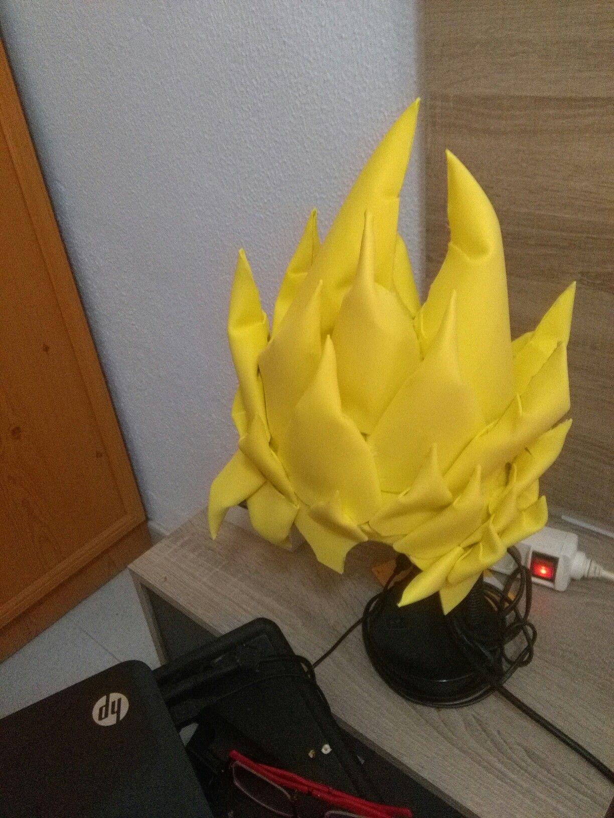 Peluca Goku De Goma Eva Goma Eva Gomitas Cumpleaños De Dragón