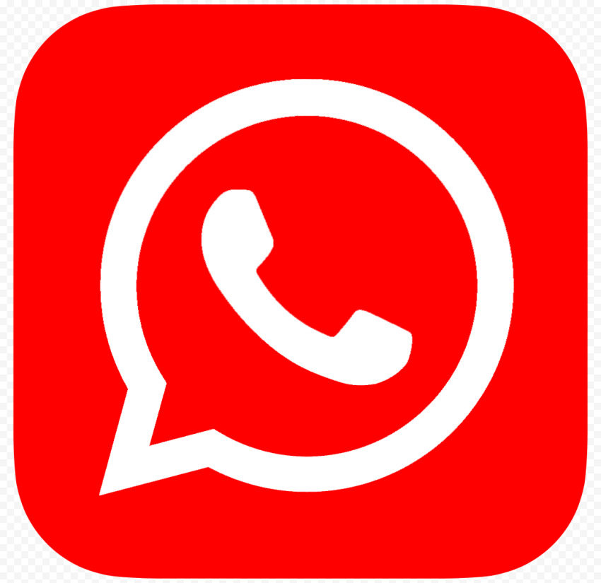 Hd Red Whatsapp Wa Whats App Official Logo Icon Png Citypng Logo Icons Ios Icon Snapchat Icon