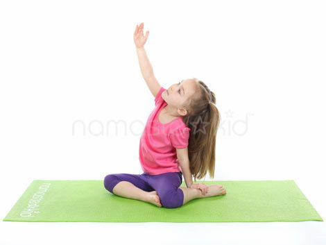 mermaid pose  kids yoga poses yoga for kids mermaid pose