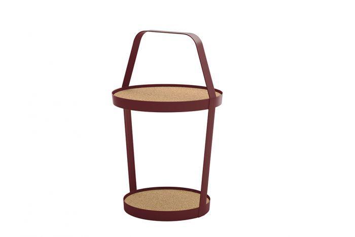 Tub burgundy cork natural Design on Stock | Slijkhuis Interieur ...