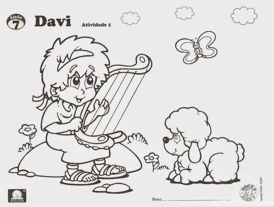 David Plays the Harp