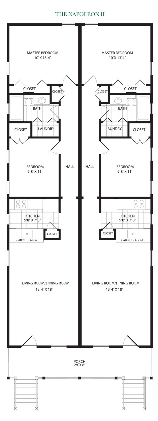 Shotgun house plans new orleans house plan 2017 for Orleans home builders floor plans