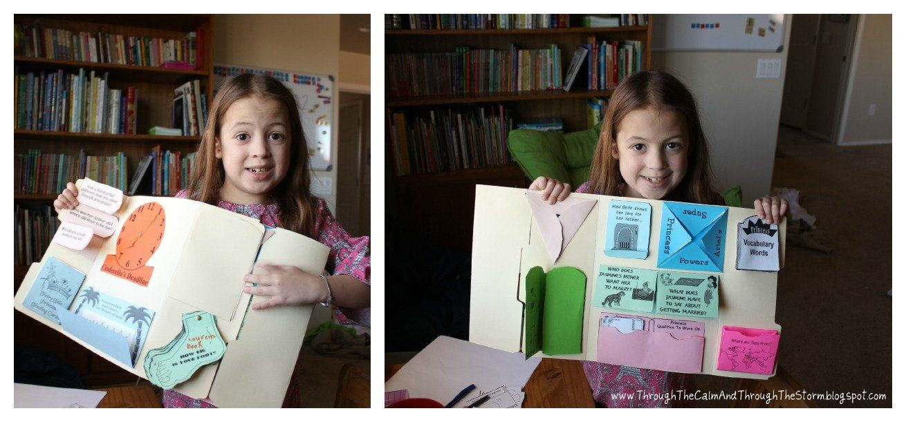 Check out Lauren and her Princess Lapbook and read her Mom, Cristi's, review!