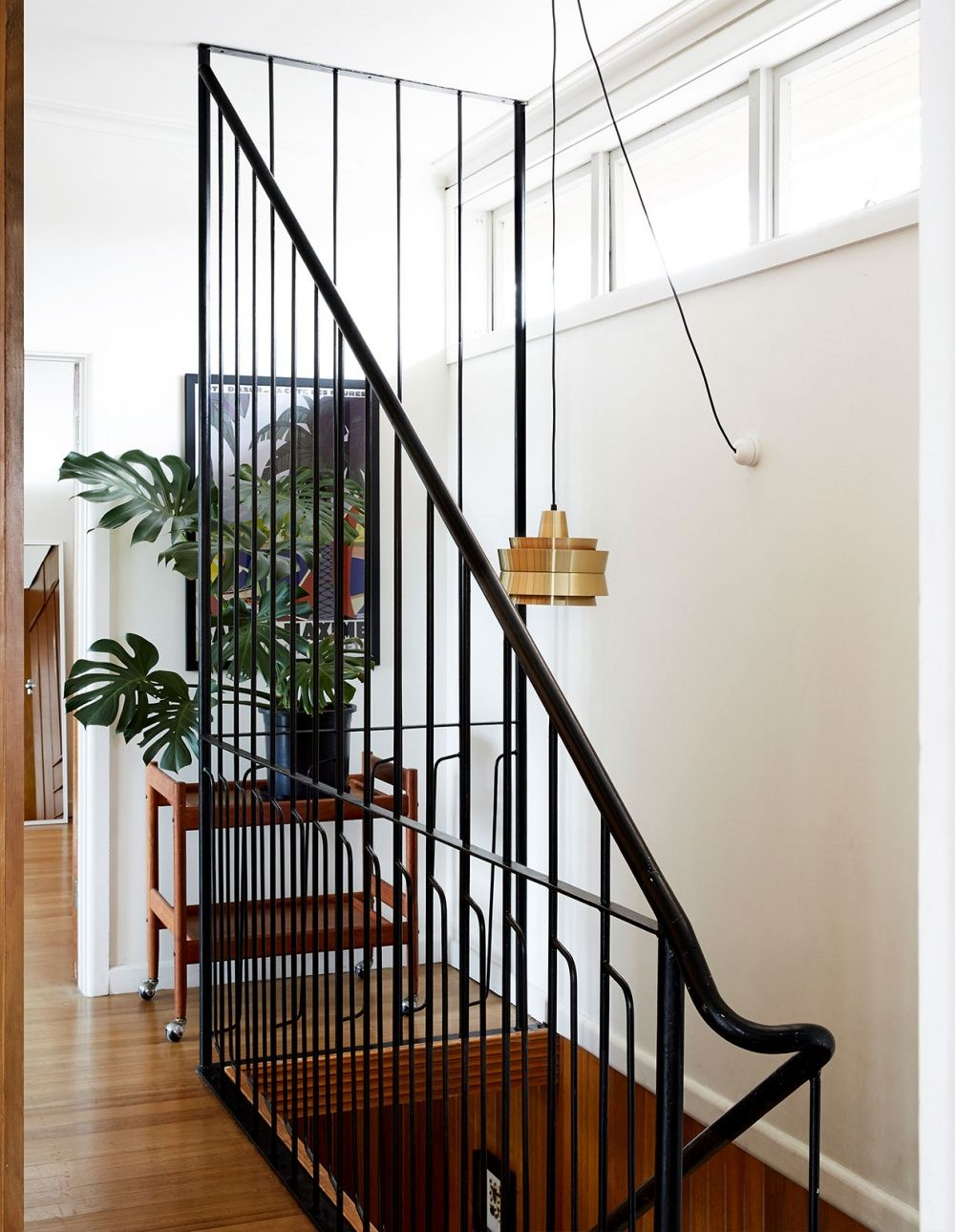 Mid Century Magic In West Footscray Mid Century House | Mid Century Modern Stair Railing