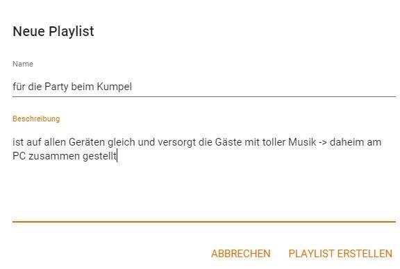 Einheitliche Playlists Dank Google Play Music: Für PC