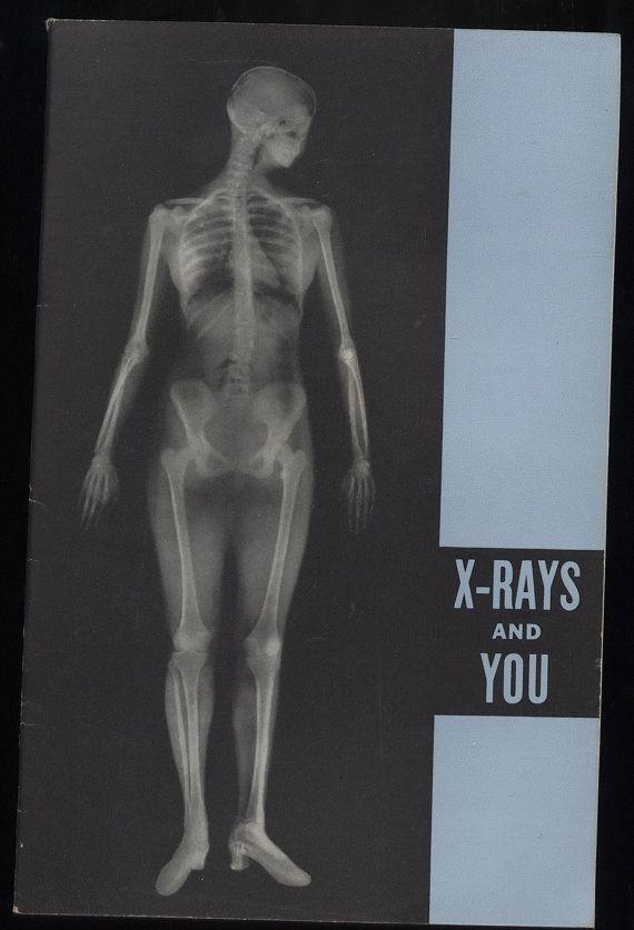 vintage Eastman KODAK X-RAY booklet Nurse Doctor MEDICAL Photography ...
