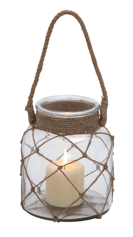 Candle lanterns, Jar candles and Jute