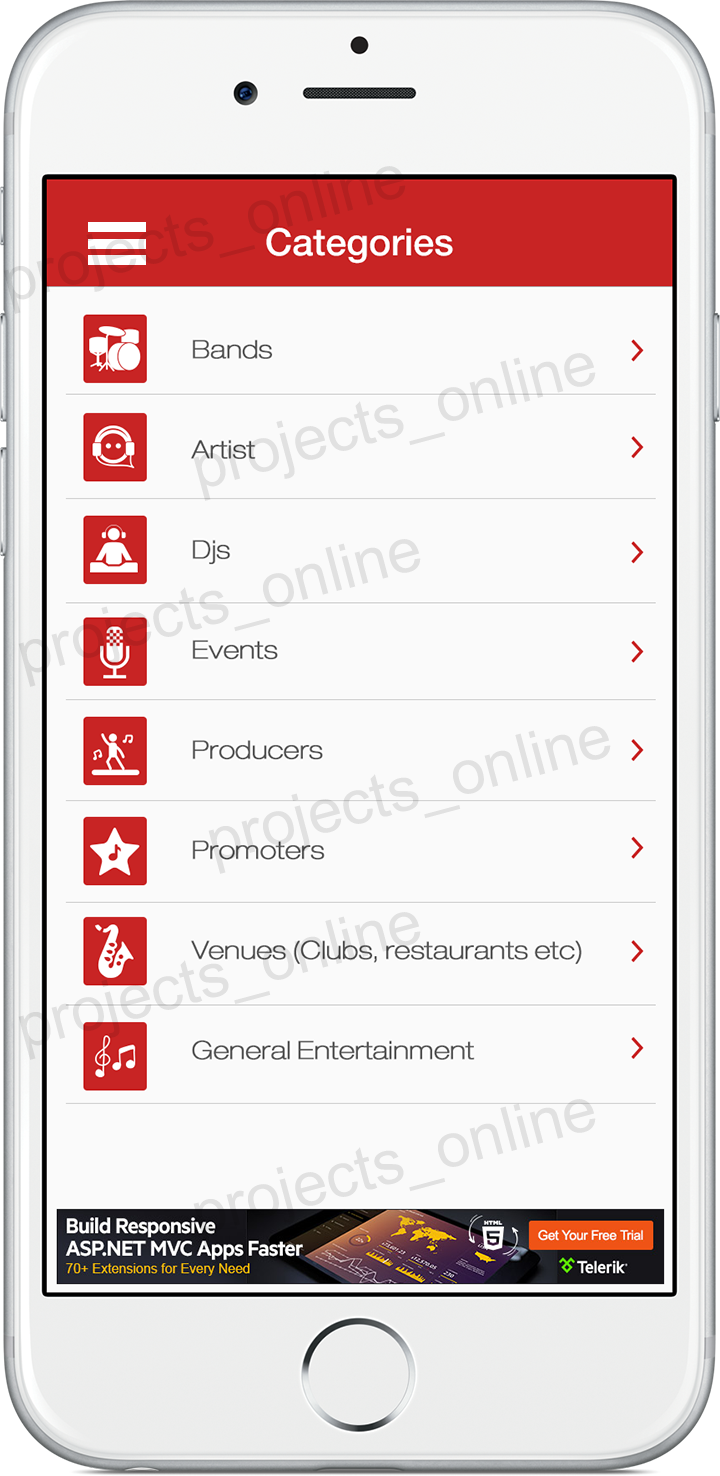 Home Screen Design for a IPhone/Mobile App. | Mobile UI | Pinterest ...