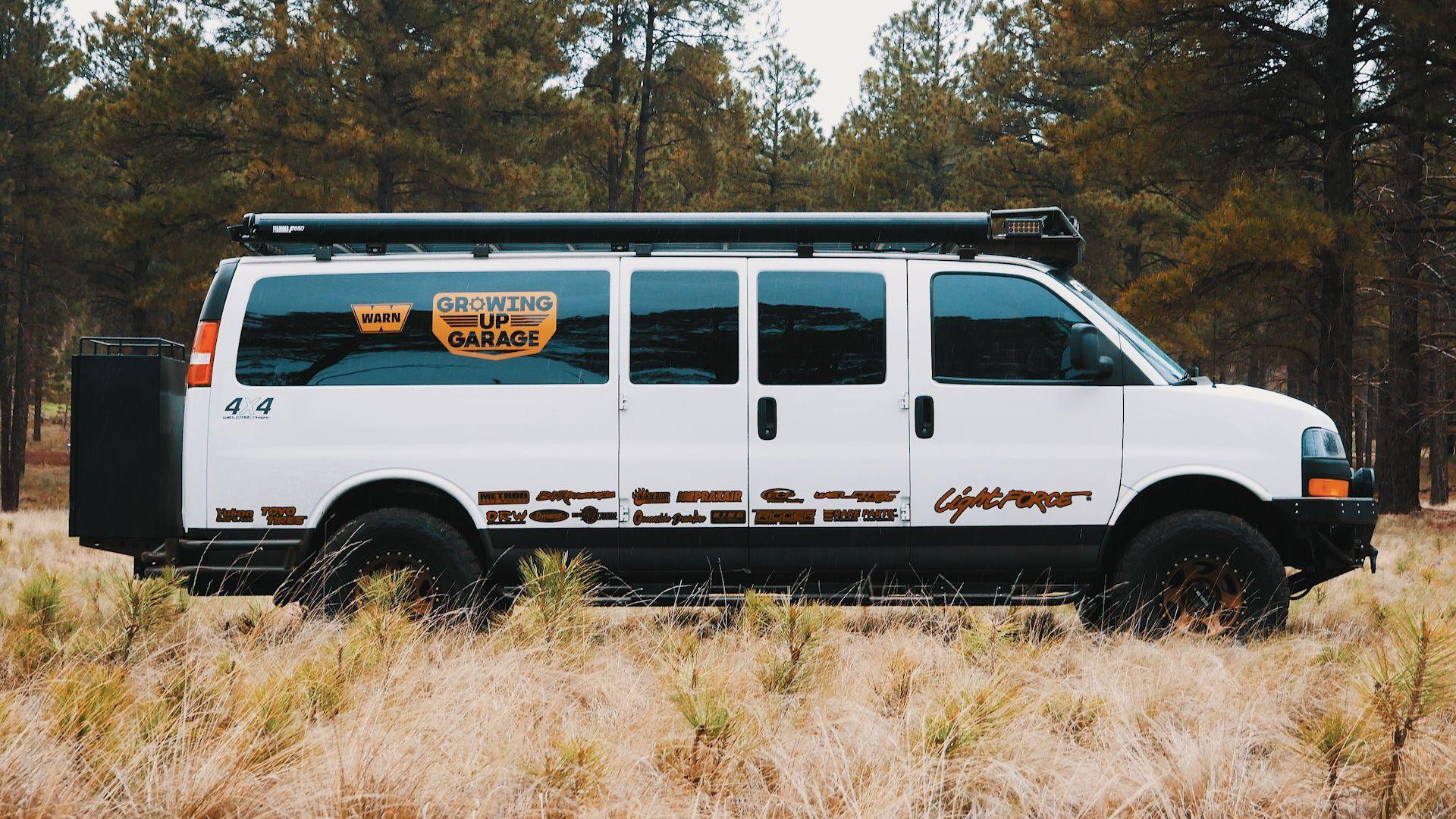 Chevrolet Express Van 4x4 Coilover Conversion Weldtec Designs Chevy Express Van Gmc Vans