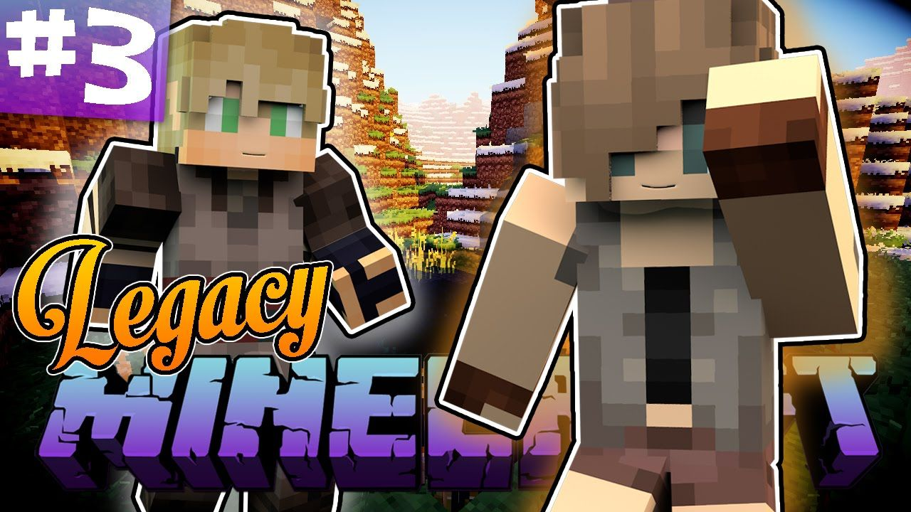 A Bandit Slave - Minecraft Legacy Ep  3 (Minecraft Roleplay