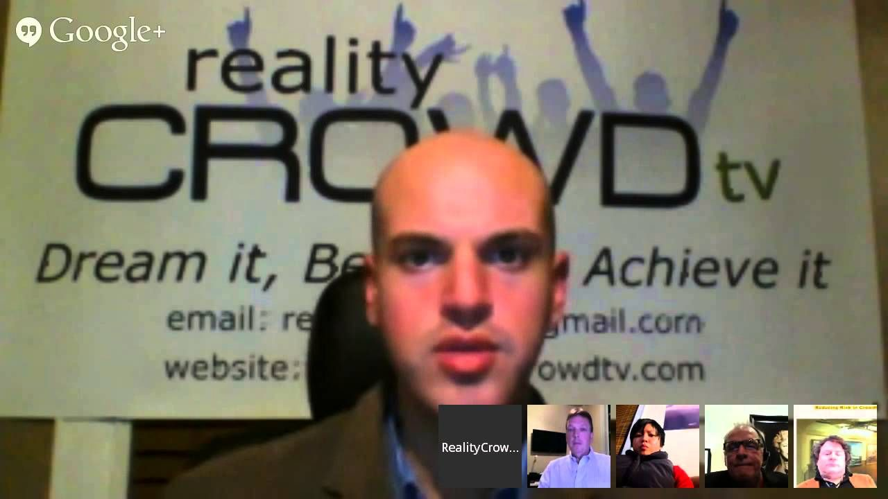 Reality Crowd TV Crowdfunding Hangout Episode #5