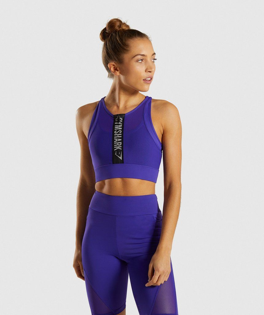 Elevate your performance. ⁃ High support sports bra