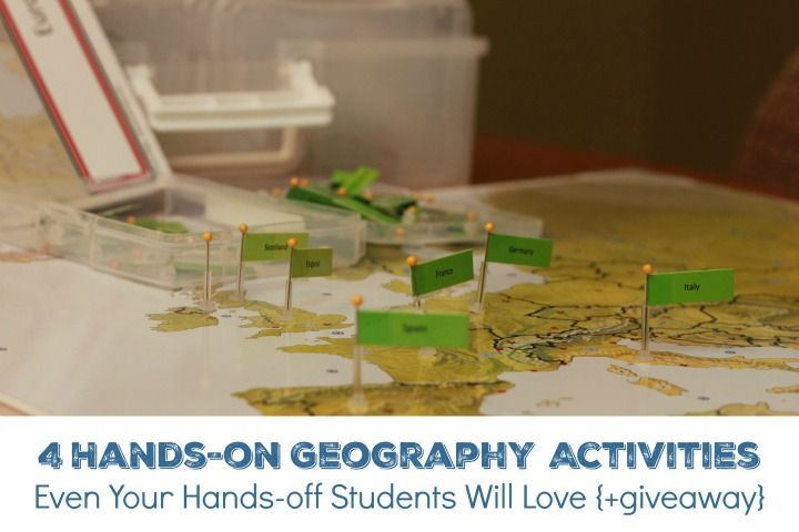 4 Hands-on Geography Activities Even Your Hands-off Students