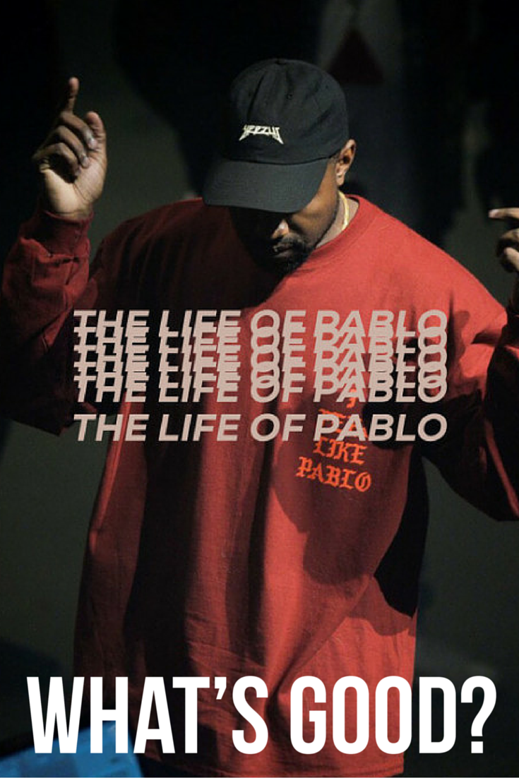 Hip Hop Rapper Kanye West Aka Yeezy As Pablo Picasso Make Your Own The Life Of Album Cover Music