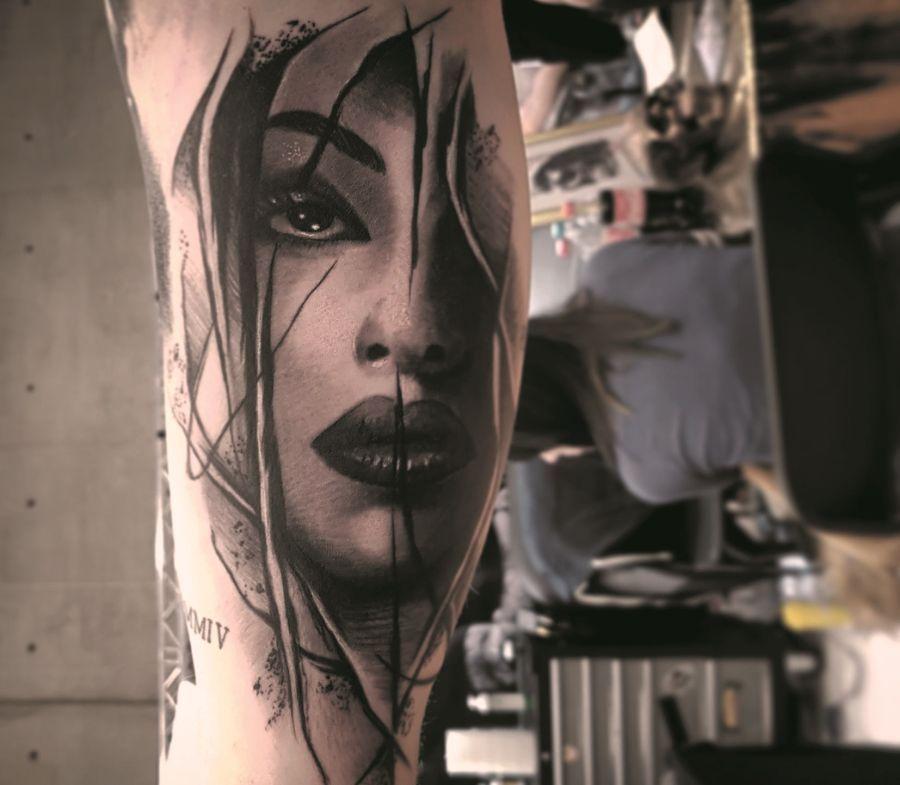 Park Art My WordPress Blog_Real Hasta La Muerte Baby Tattoo