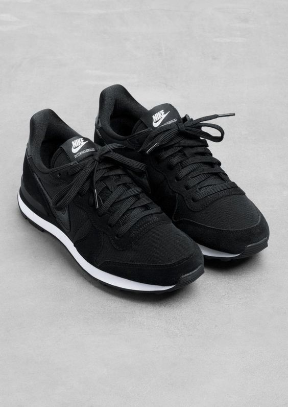 desierto Escarpado entrar  Image result for zapatillas negras para bailar correr y salir | Nike shoes  outlet, Nike internationalist, Nike free shoes
