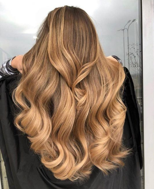 50 Caramel Highlights on Light and Dark Brown Hair