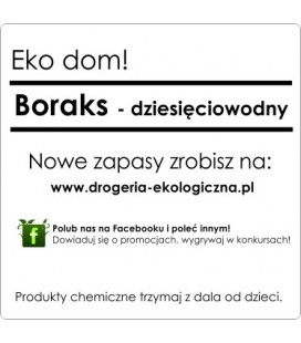 5 Kg Boraks Borax 10 Wodny Ekologiczny Srodek Czyszczacy Better Land Drogeria Ekologiczna Pl Betterland