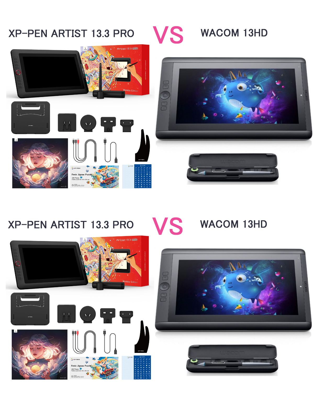 Xppen tablet review artist 133 pro vs i draw