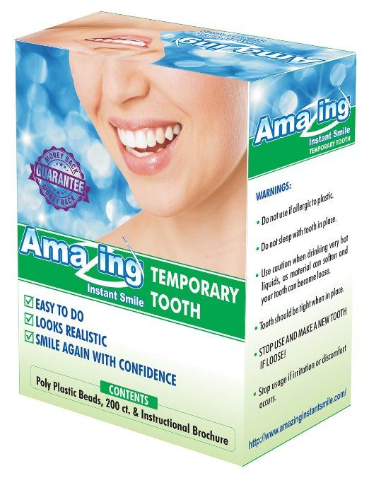 Amazing Temporary Tooth Kit Diy Do It Yourself Https Www