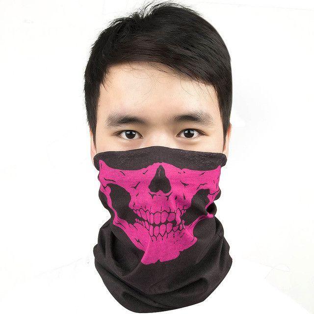 Skull Multi Bandana Bike Motorcycle Scarf Face Mask CS Ski Headwear Neck party masks halloween mask motorcycle mask skull
