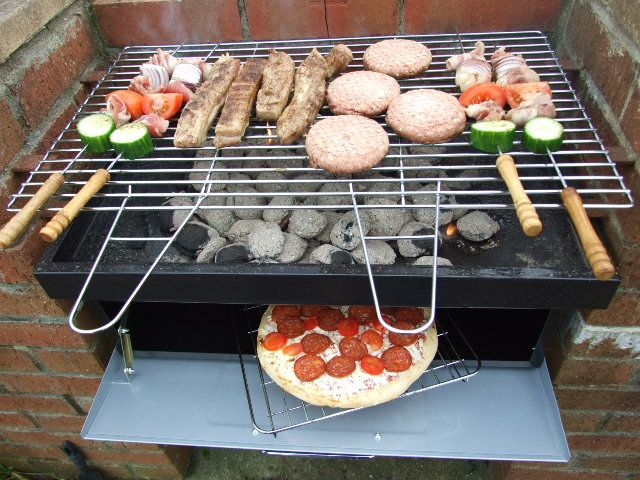 Building A Brick Smoke Pit Cheap Brick BBQ Grill Design Easy - 8 diy smokers for enjoying barbeques