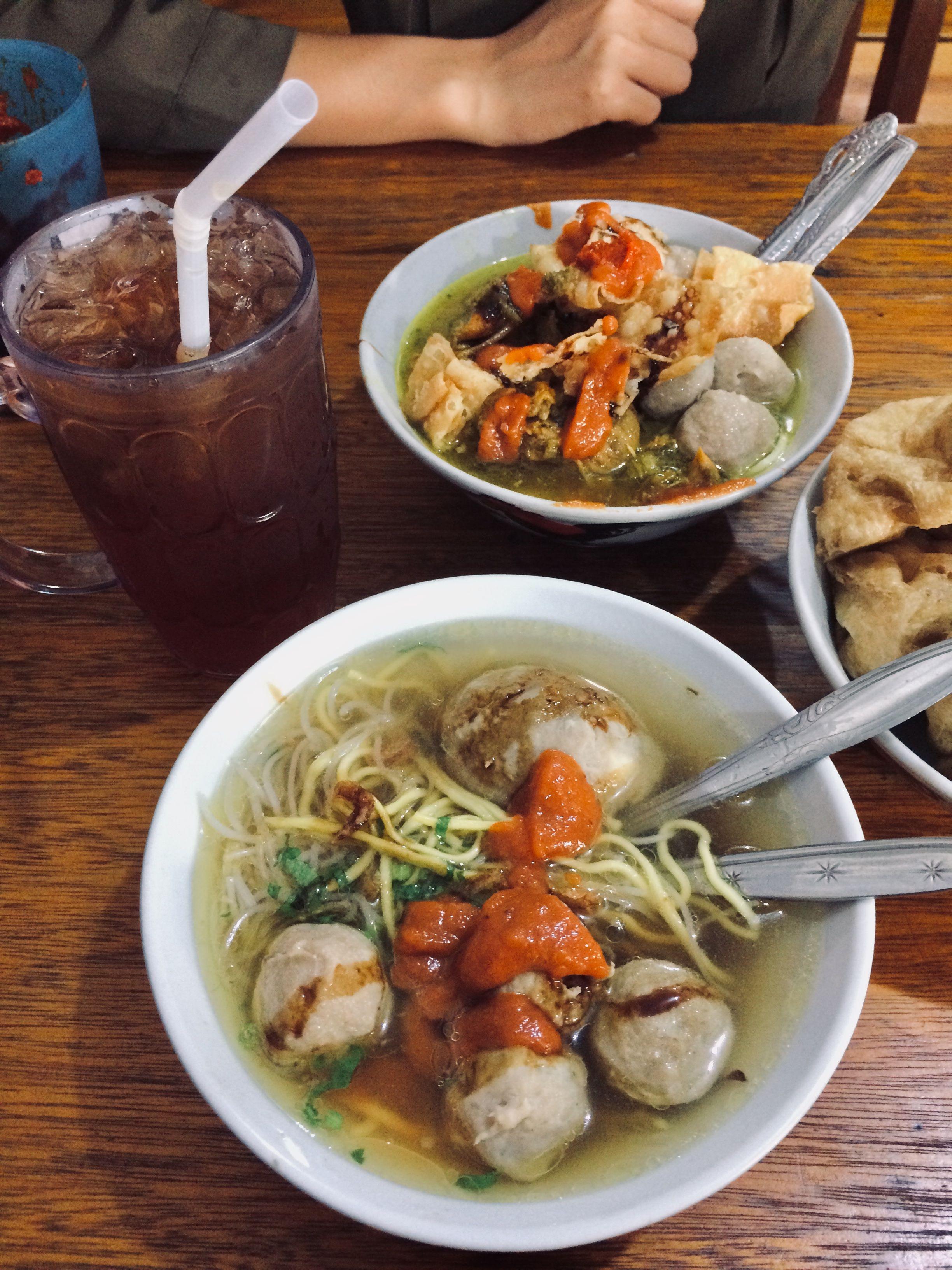 Meatballs Bakso Makanan Pedas Ide Makanan Masakan Indonesia