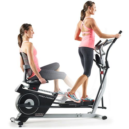 Hybrid Trainer Recumbent Bike Workout Biking Workout Exercise Bikes