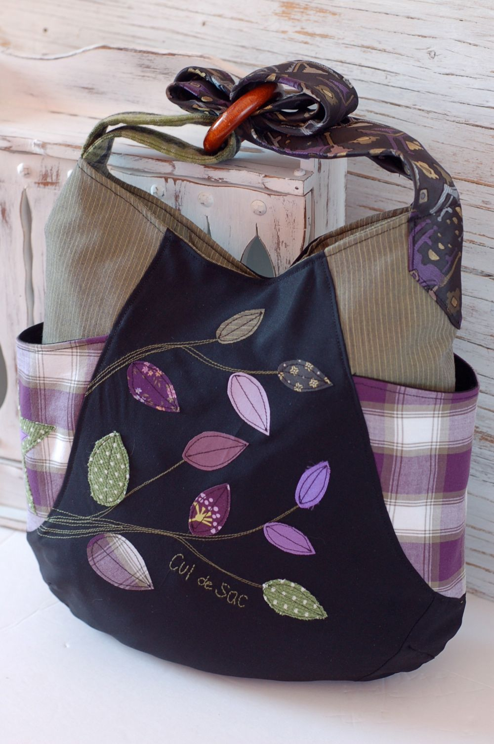 241 tote by Cul de Sac, 100% eco-friendly handmade with recycled and ...