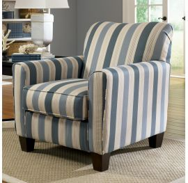 Addison Blue Accent Chair, Ashley, Addison