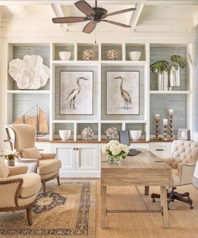 30 Incredible Coastal And Beach Home Offices Design Ideas