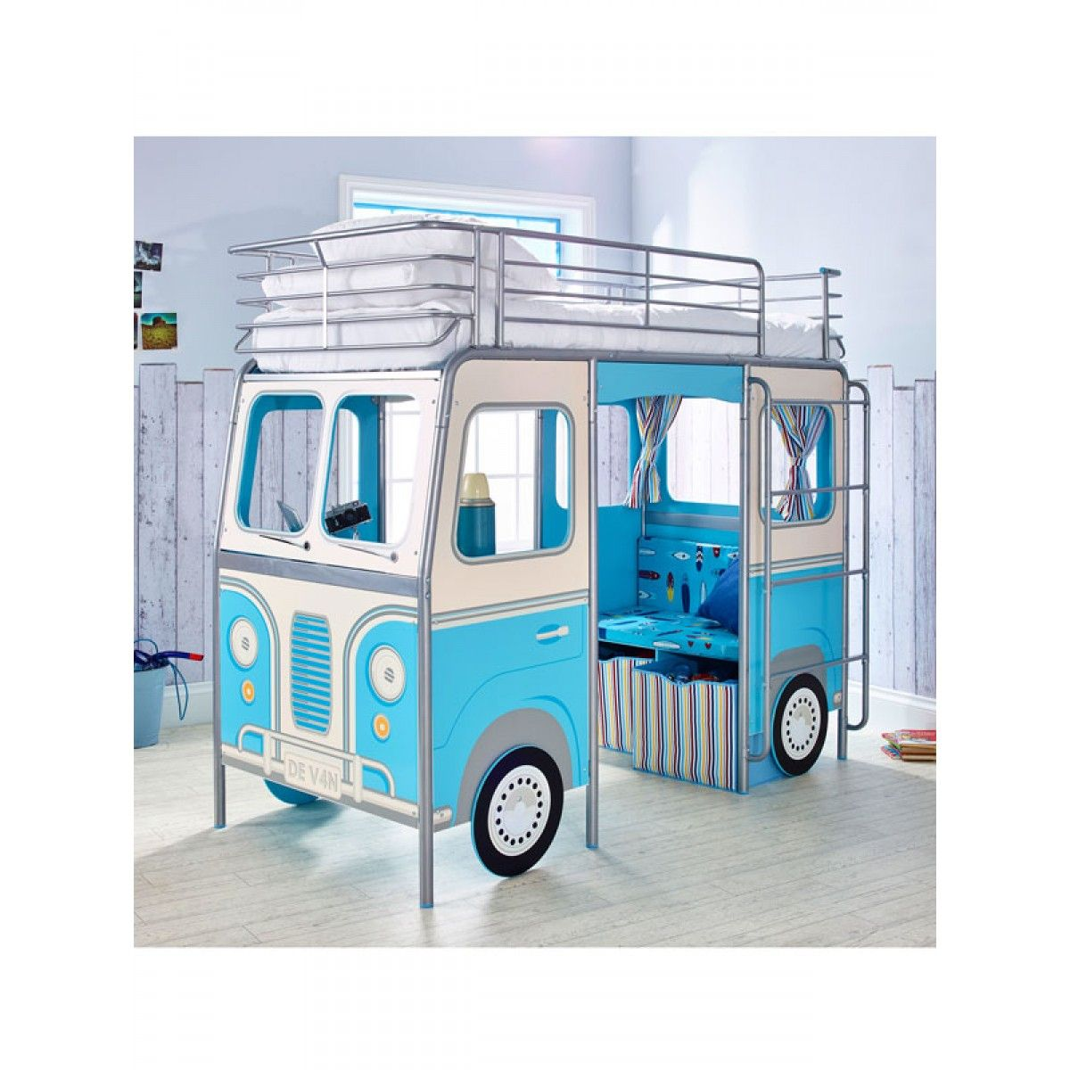 A fun Camper Van design cabin bed Part of the HelloHome