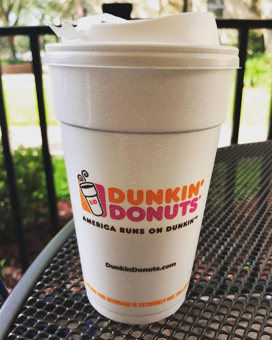 Sarah runs on Dunkin. Happy Wednesday! lifeazsarahlou