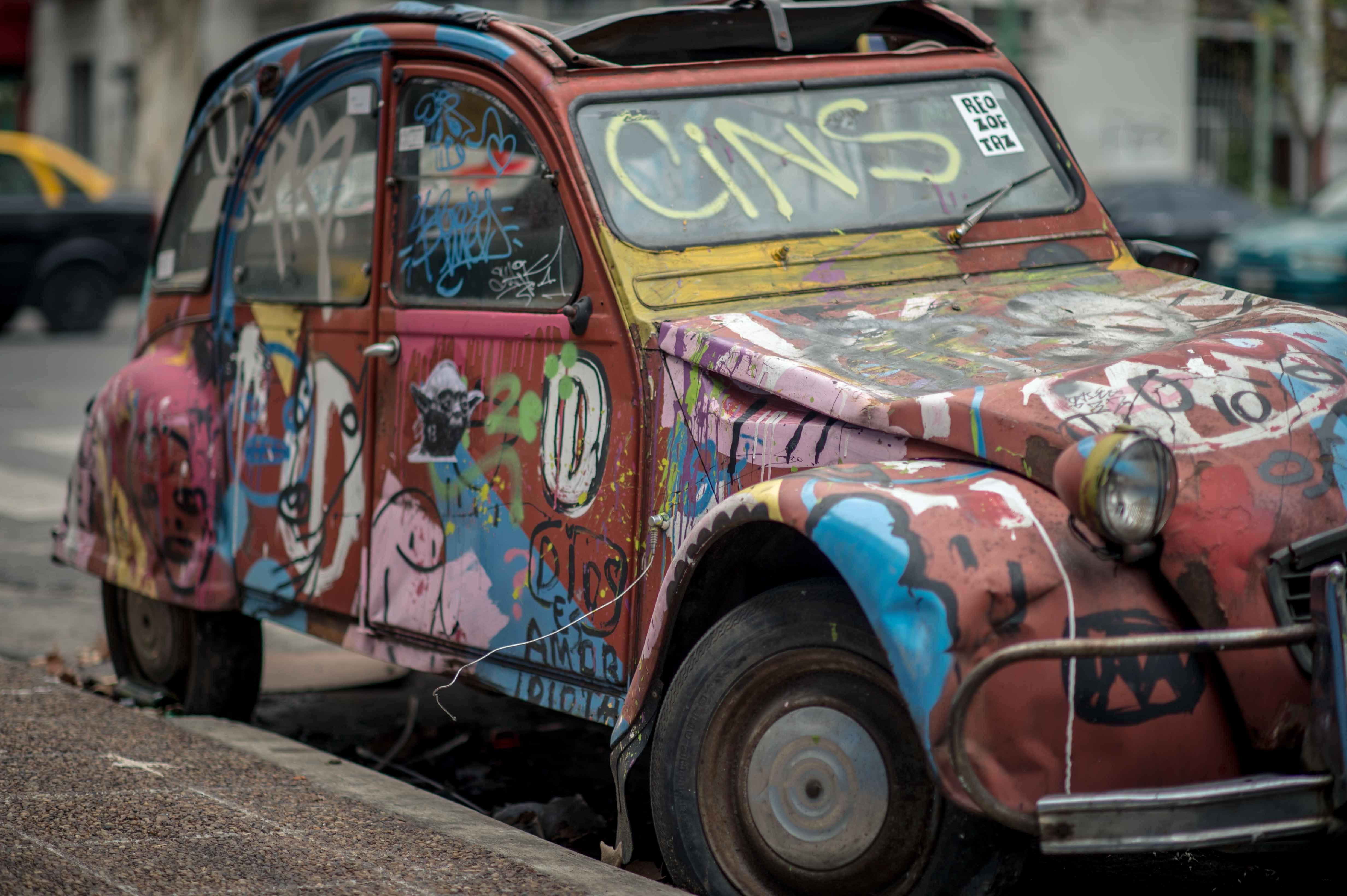 Graffiti Car, Buenos Aires