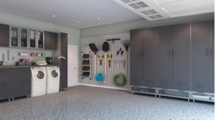 55 Neat Well Organized Garage Home Decor Ideas Garage Laundry