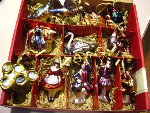 Twelve Days Of Christmas Ornaments.Details About 12 Days Of Christmas Mouse Ornaments Set Of