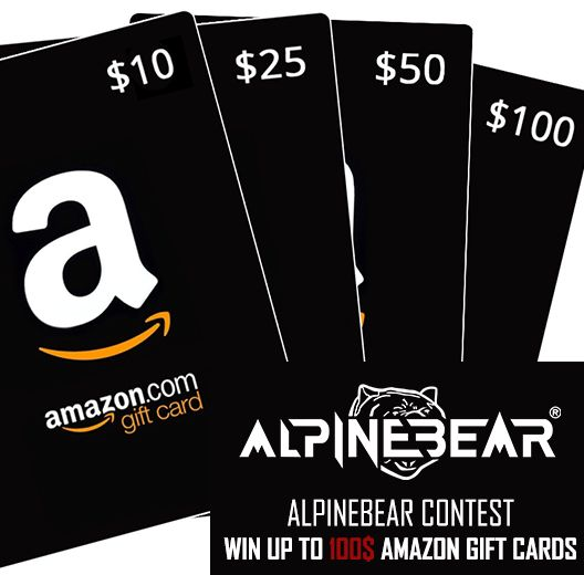 Contest Closing End Of August 2018 Win Up To 100 Amazon Gift Cards