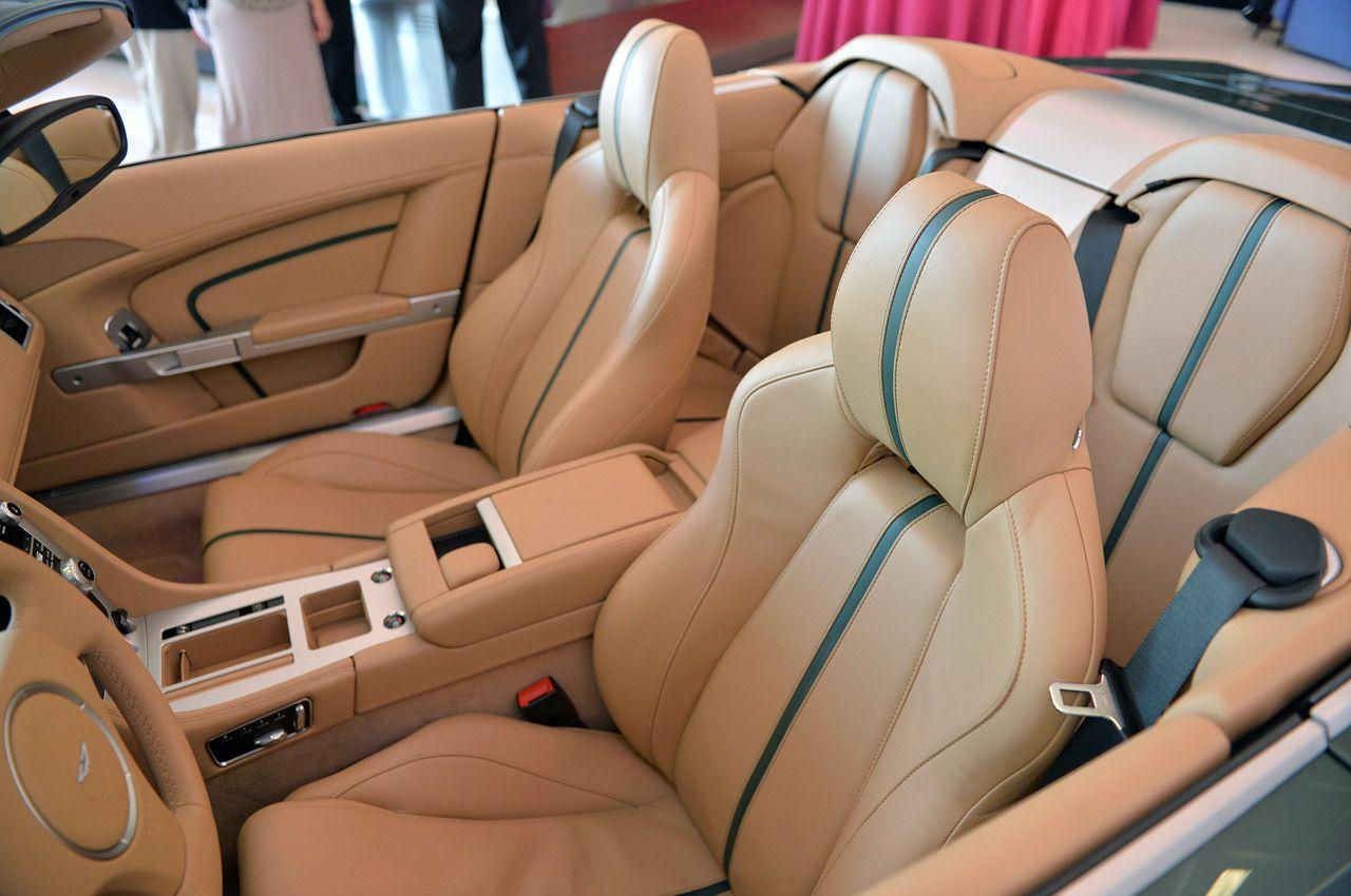 Aston Martin Db9 Spyder Zagato Centennial Aston Martin Db9 Volante Beige Interior Aston Martin