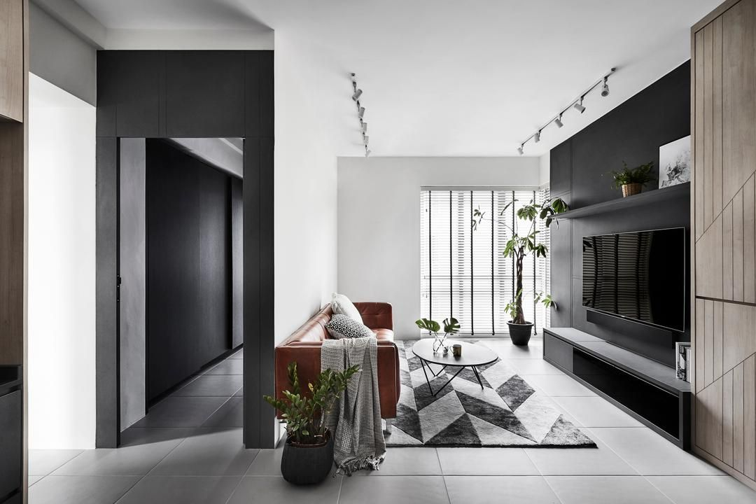 Check Out This Contemporary Style Hdb Living Room And Other