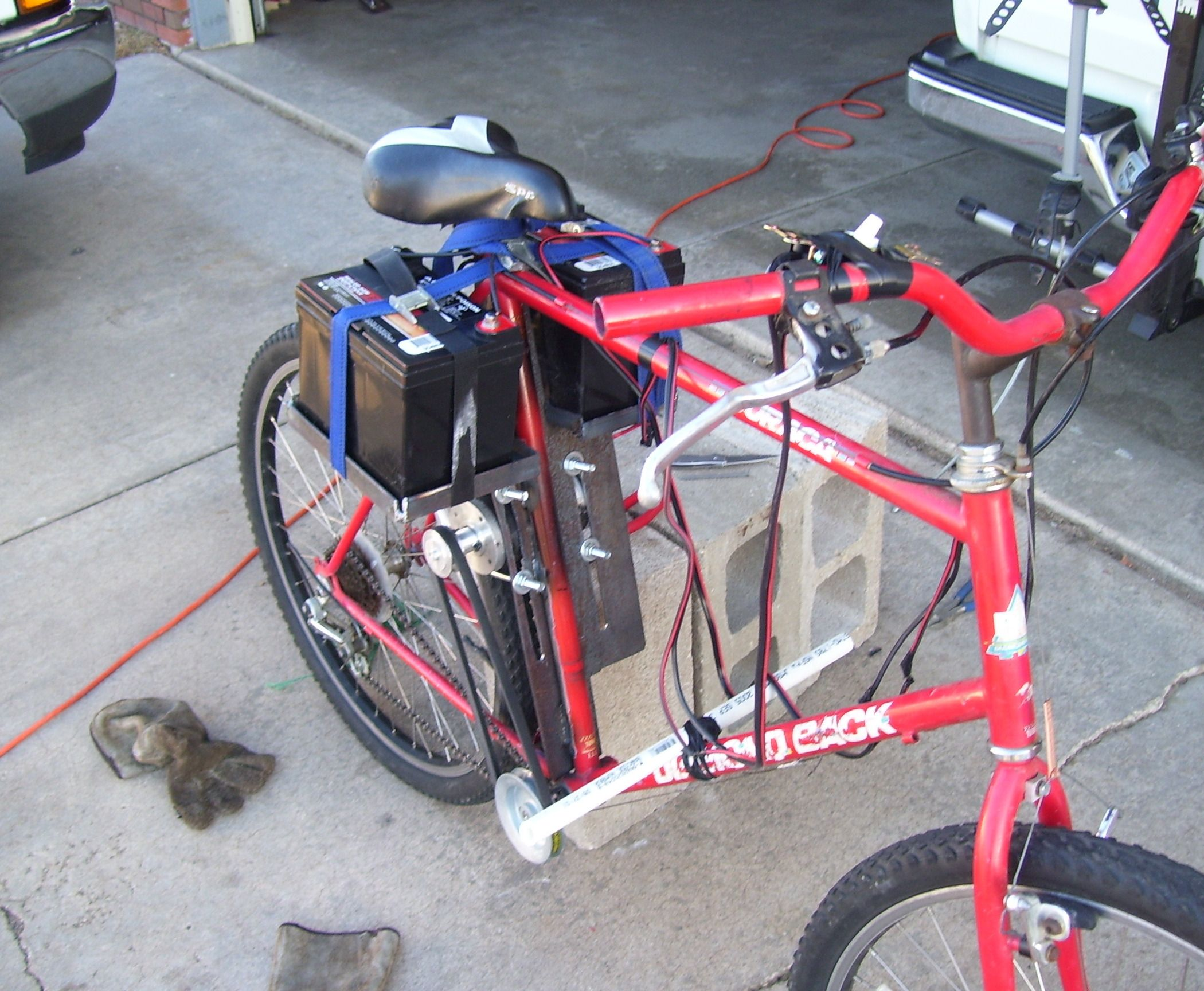 How To Build An Electric Bike For Less Than 100 With Images