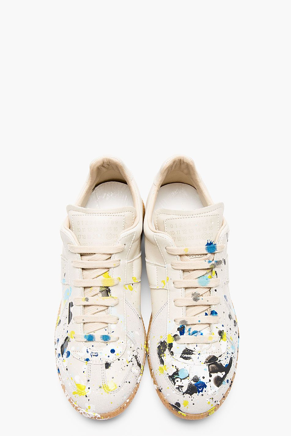 Grey Paint Splatter Replica sneakers Maison Martin Margiela