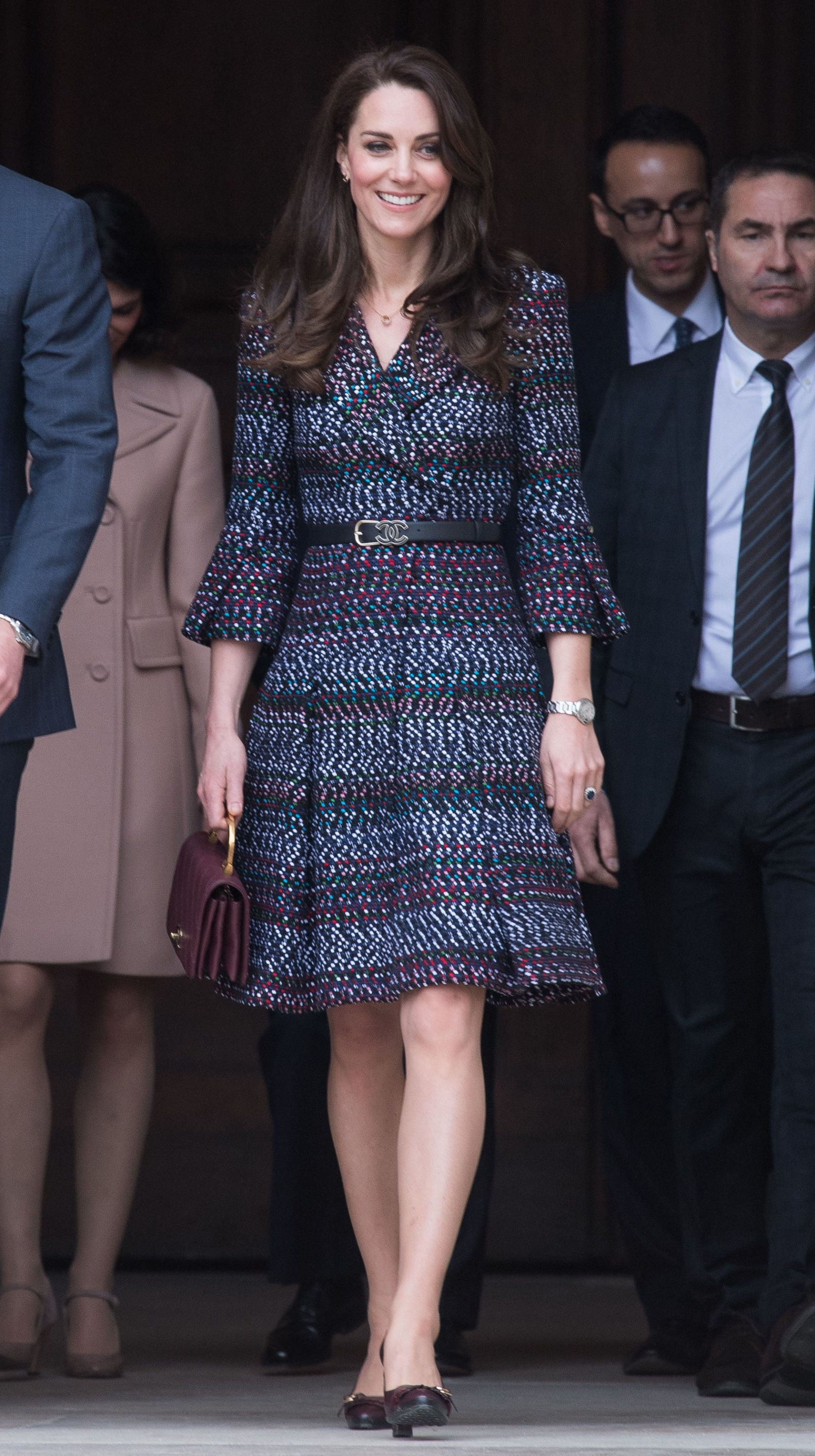 20800ca1faa Kate Middleton Plays Rugby in Chanel