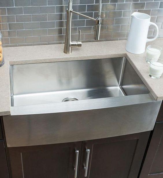 Costco Wholesale Farmhouse Sink Kitchen Single Bowl Kitchen Sink Stainless Steel Kitchen Sink