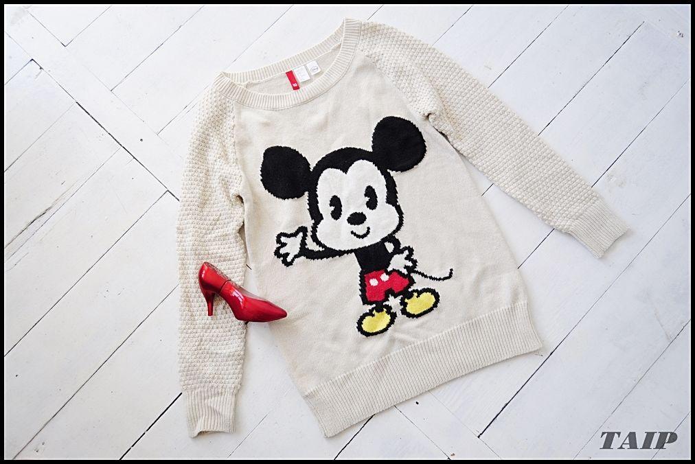 Disney Cudny Sweter Z Myszka Miki 36 6270399674 Oficjalne Archiwum Allegro Clothes Baby Onesies Sweaters