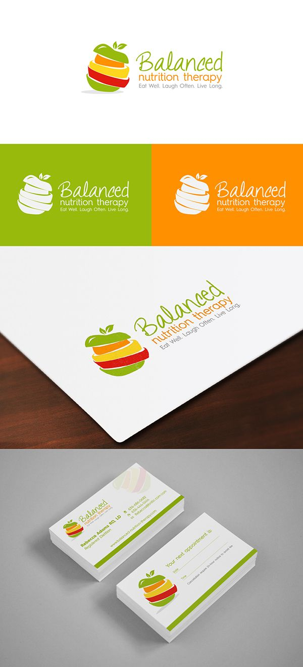 Logo design for a nutritionist httpjrstudiowebdiseno logo design for a nutritionist httpjrstudiowebdiseno professional business cardsunique magicingreecefo Image collections