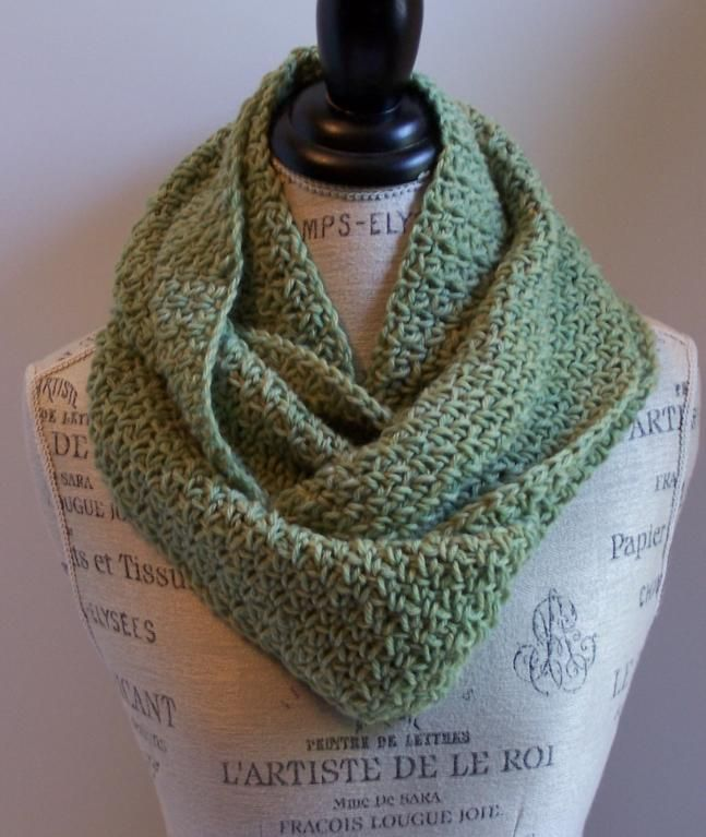30 Minute Infinity Scarves Patterns To Crochet Infinity Scarf