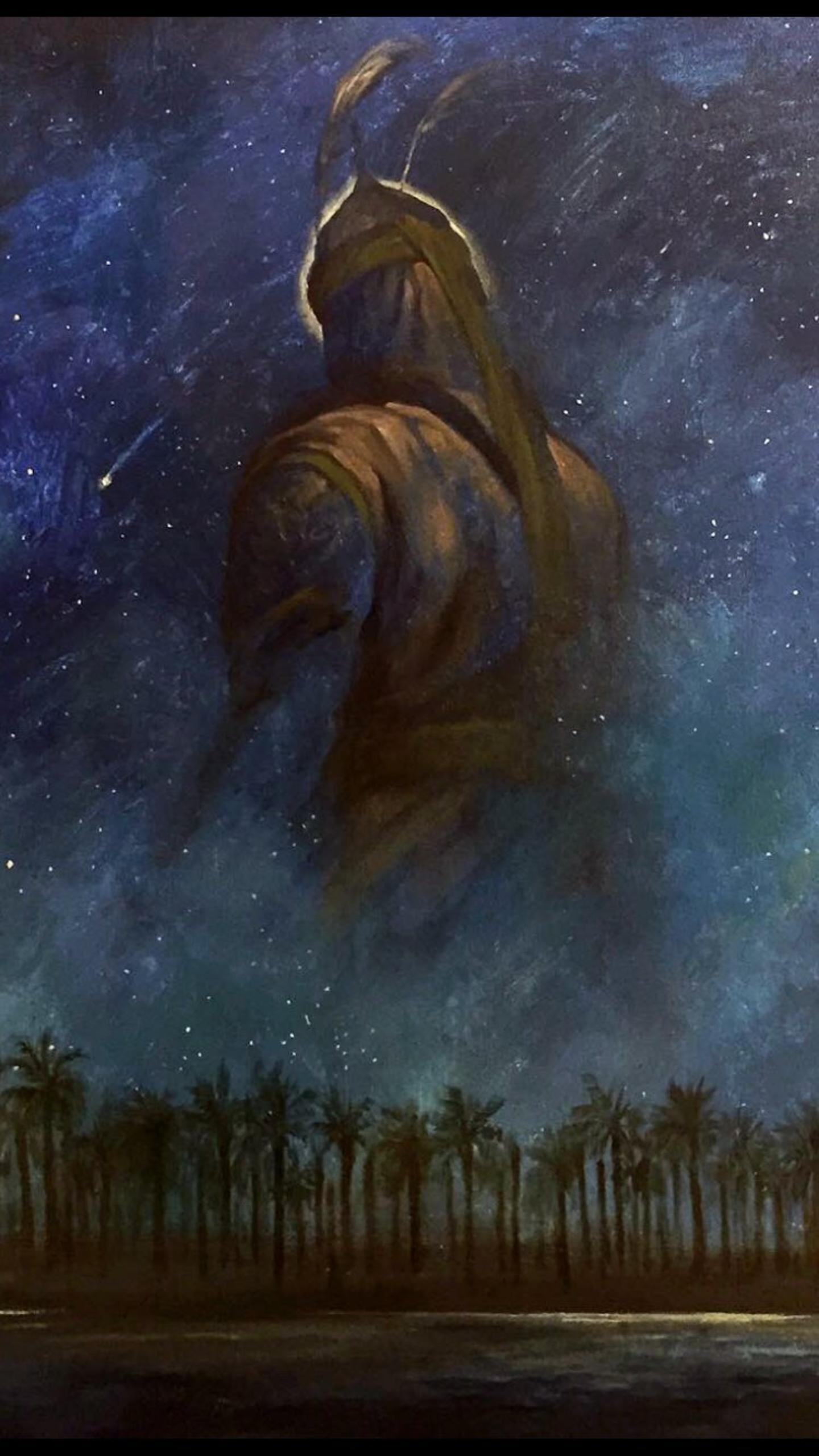 لوحة الرسام الإيراني حسن روح الأمين أبي الفضل العباس بن علي بن أبي طالب Islamic Paintings Islamic Artwork Mosque Art