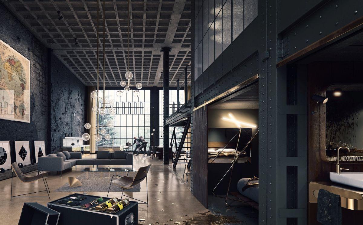 40 Incredible Lofts That Push Boundaries | Penthouse | Pinterest ...