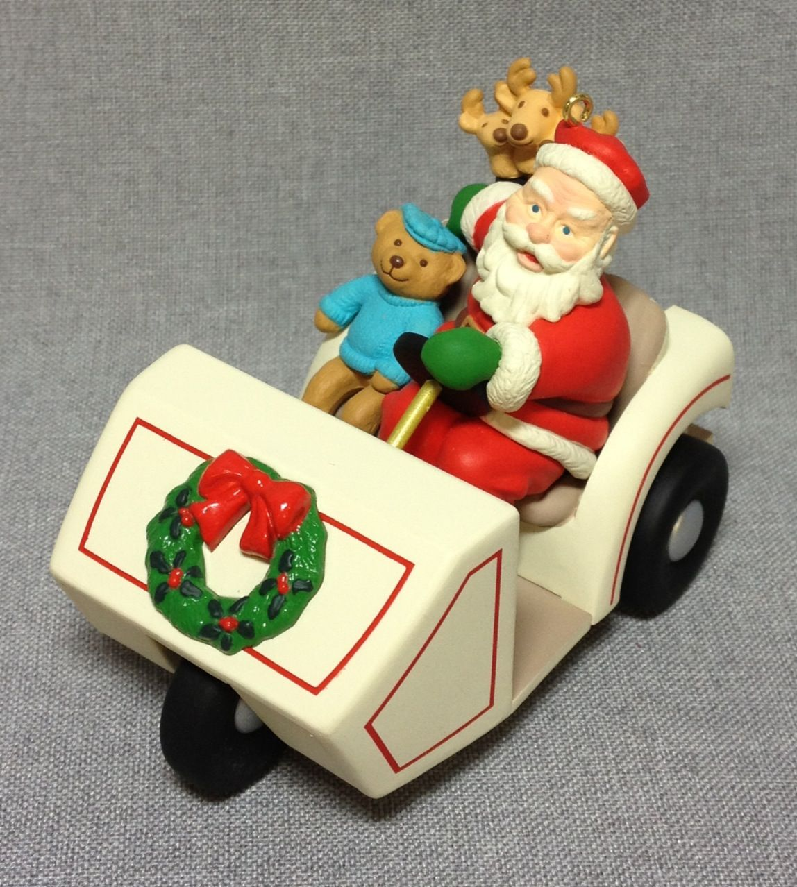 Here Come's Santa Santa's Golf Cart 21st in the Series