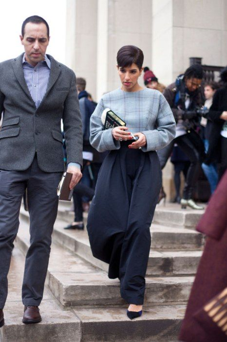Photos: Street Style: Paris Fashion Week Fall/Winter 2014 | Vanity Fair